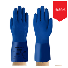 Load image into Gallery viewer, Ansell 04-644 SUPERFLEX  PVC Chemical Resistant Gloves - 12Pr/Pk