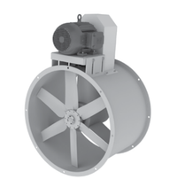 "Load image into Gallery viewer, 24"" Tube Axial Paint Booth Fan Less Motor"