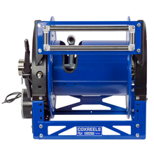 Load image into Gallery viewer, Motorized Hybrid Frame Hose Reel - 1500 PSI - 1600 Rich Reel Series (Model 1680)
