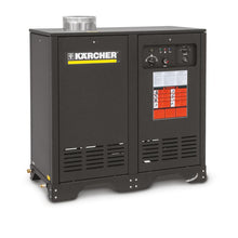 Load image into Gallery viewer, K'A'RCHER German Engineered 2200 PSI @ 4.5 GPM Direct Drive 9.5hp 230V Single Phase K'a'rcher Axial  Electric Hot Water Pressure Washer LP Gas Heated