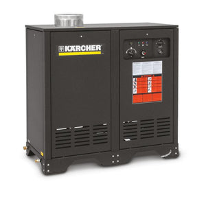 K'A'RCHER German Engineered 3000  PSI @ 5.0 GPM Direct Drive 11hp 460V Three Phase K'a'rcher Axial  Electric Hot Water Pressure Washer Natural Gas Heated