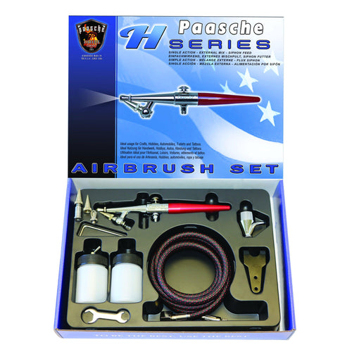 H-Series Airbrush Set (all three heads) (1587593740323)
