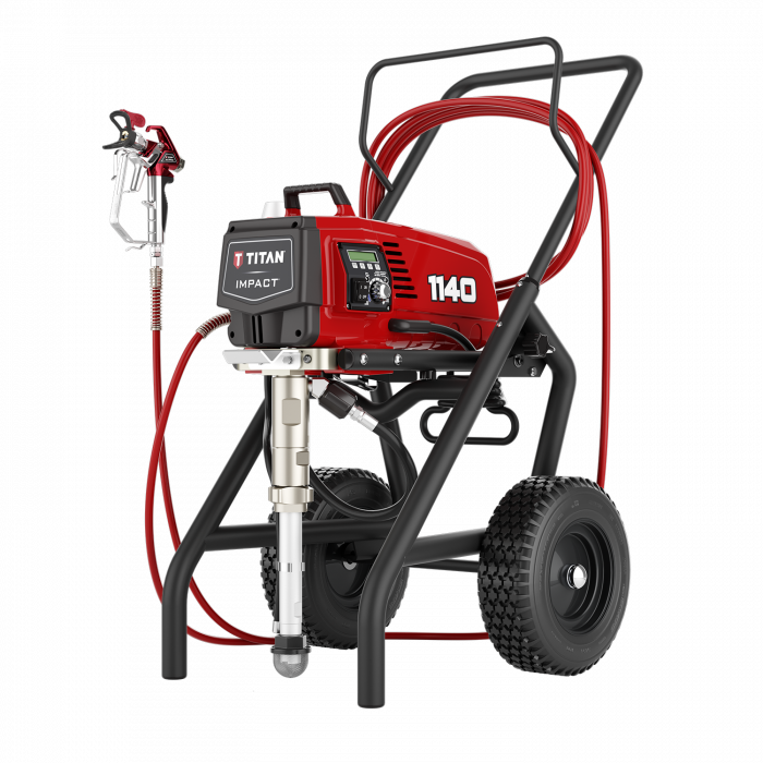 Titan Impact 1140 3300 PSI @ 1.20 GPM Electric Airless Paint Sprayer - High Rider