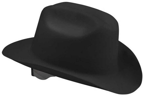 Kimberly-Clark Jackson Safety 17330 Ratchet Suspension Hard Hat in Black - 4/CS