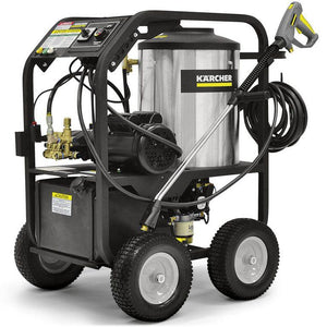 K'A'RCHER 1000 PSI @ 2.1 GPM Direct Drive 1.5hp 120V Single Phase 15a K'a'rcher KF Electric Hot Water Pressure Washer Diesel Heated