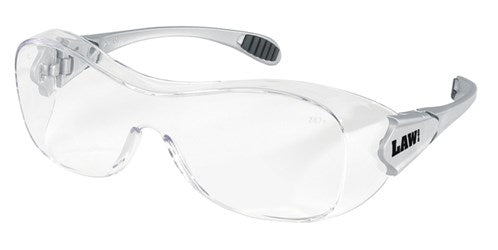 MCR Safety Law® OTG - Over-the-glass frame, Clear Anti-Fog Lens 1/EA