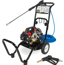 Load image into Gallery viewer, Mi-T-M 1400 PSI @ 1.5 GPM NEMA 5-15P Direct Drive Triplex Crankshaft  Pump  Cold Water  Electric  Portable Pressure Washer with  Mister Combination
