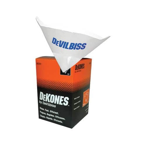 Devilbiss Dekones Paint Strainers Medium 226 Micron 100/box (1587574734883)
