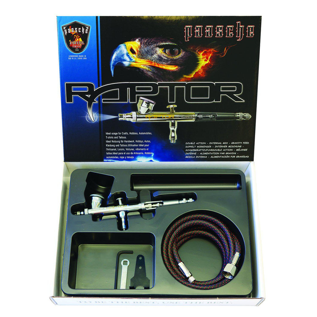 Raptor Double Action Airbrush Set (1587354730531)