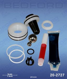 Titan 704-586 Bedford 20-2727 Repair Kit with Polyethylene Packings (1587346014243)