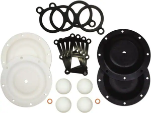 "SandPIPER® - Pump Repair Kit - 1"" Ptfe for S1fm Fluid Section Repair Kit for Use with Diaphragm Pumps"