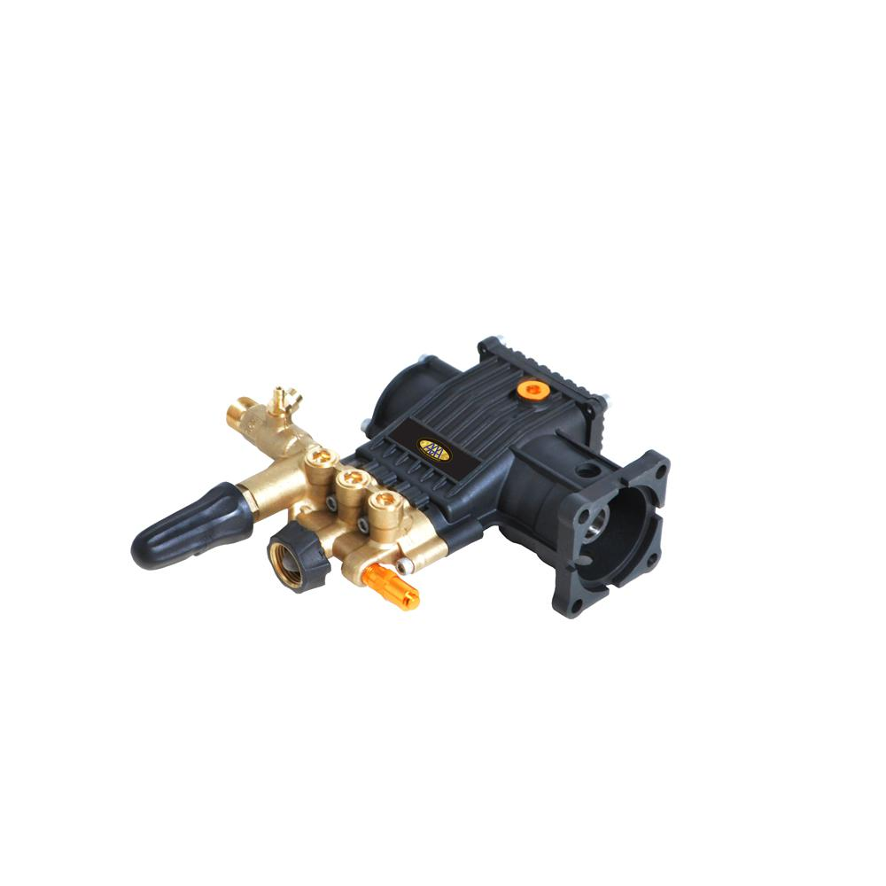 SIMPSON® 8.7GA12 3,400 psi 2.5 GPM AAA Triplex Plunger Horizontal Pump with Brass Head and Powerboost Technology
