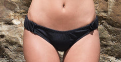 Side Gathered Bikini Bottoms