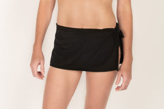 Side-Tie Swim Skirt - Brookesbeach.com