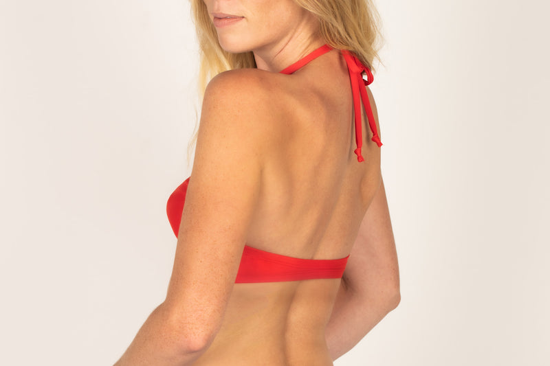 Tie Halter Swim Top - Brookesbeach.com