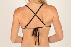 Criss-Cross Tie Back Tank Tops - Brookesbeach.com