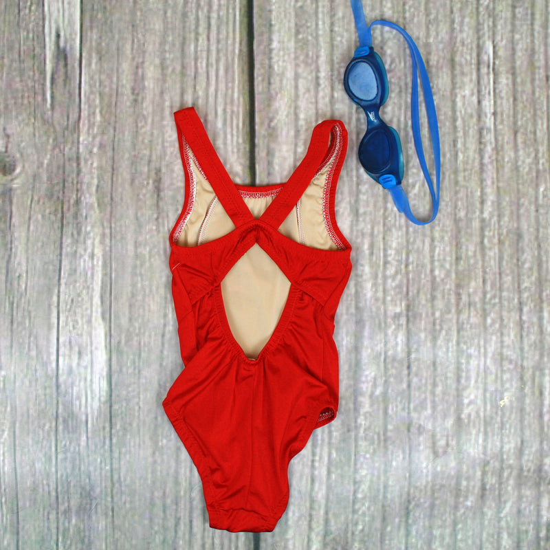 SeaCliff 1-Piece Butterfly Back Girl's Swimsuit - Brookesbeach.com