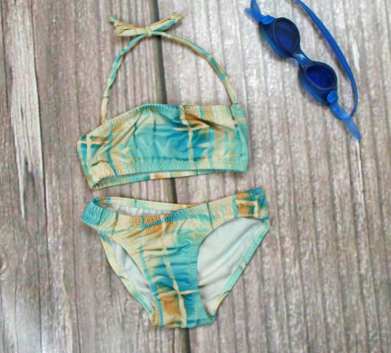 Mitchells Cove Two-Piece Bandeau Girl's Swimsuits - Brookesbeach.com
