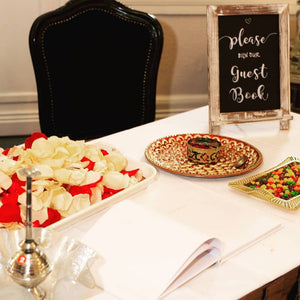 Making the most of your rustic themed wedding with handcrafted chalkboards