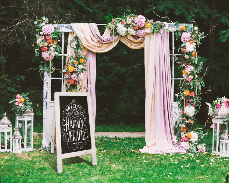 Wedding Sign Ideas - Guide and Encourage Guest Involvement