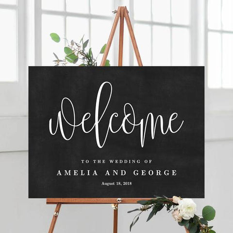 Welcome to the Wedding Of Sign - Blackboard