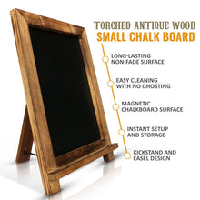Antique Wood Small Rustic Wedding Chalkboard Easel - Vintage by Kaimi