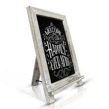 Small Rustic Wedding Sign Chalkboard Easel - Vintage by Kaimi