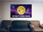 Doge Coin Flag (3 X 5 FT)