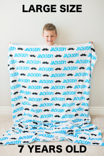 Large Graphic Blanket