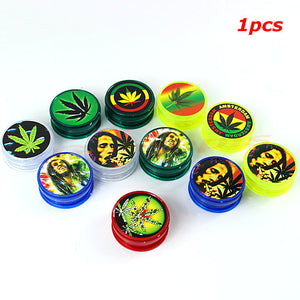 BOB MARLEY & LEAF RASTA Herbal Herb Tobacco Grinder - POP Smoking