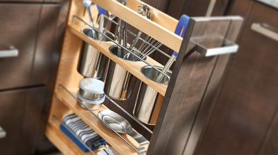 Rev-A-Shelf Pullout with Utensil bins