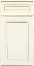 York Antique White- Sample Door- **Free Shipping!