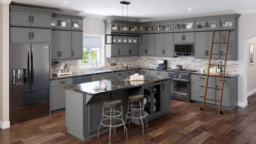 Shaker Grey 10X10 Kitchen