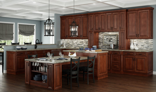 Charleston Saddle 10X10 Kitchen