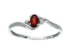 Garnet Ring 10KW Gold 115482 - Marc Richards Jewelry