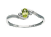 Peridot Ring 10KW Gold 116240 - Marc Richards Jewelry