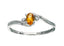 Citrine Ring 10KW Gold 116241