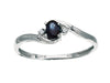 Blue Sapphire Ring 10KW Gold 116246 - Marc Richards Jewelry