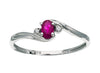 Ruby Ring 10KW Gold 116247 - Marc Richards Jewelry