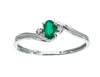 Emerald Ring 10KW Gold 116248 - Marc Richards Jewelry