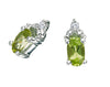 Peridot Earrings 10KW Gold 128552 - Marc Richards Jewelry