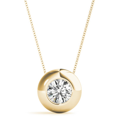 Diamond Solitaire Pendant 30397