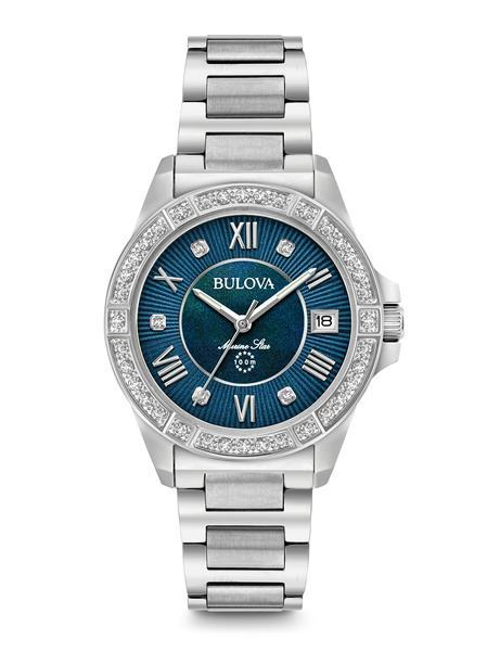 Bulova 96R215 Marine Star Women's Dress Watch - Marc Richards Jewelry