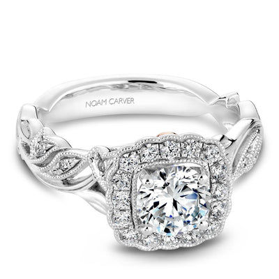 Diamond Engagement Ring B075-01WM-100A