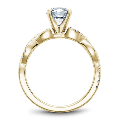 Diamond Engagement Ring B185-02YM-100A