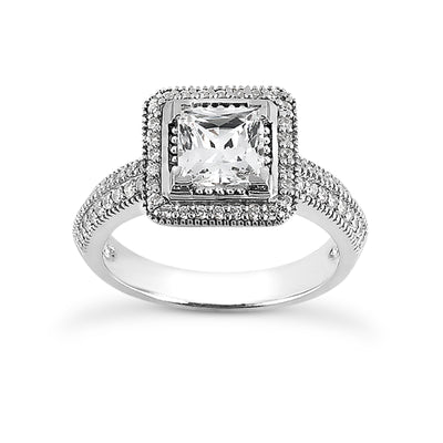 Diamond Engagement Ring ENR8648