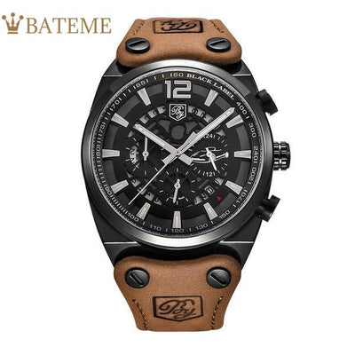 Rodrock Men's Leather Watch