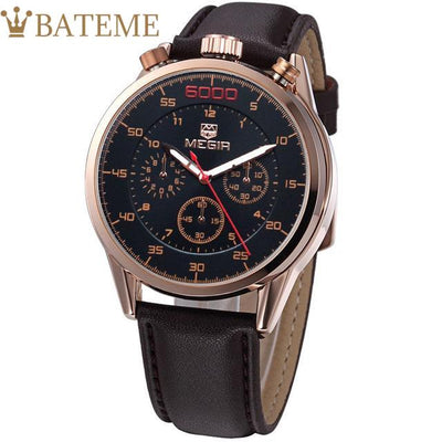 Bentley Men's Leather Watch