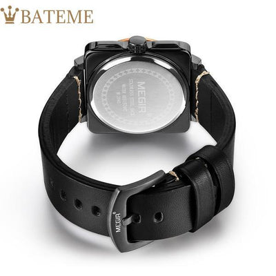Acoustics Men's Leather Watch