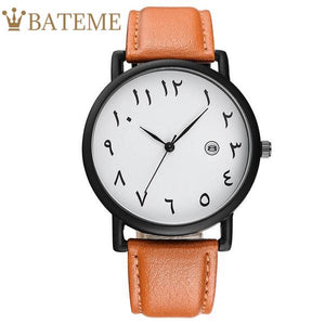 Emirates Men's Leather Watch